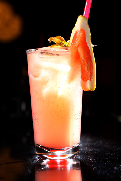 Grapefruit-collins